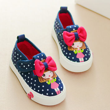 Baby Toddler Shoes Girls Jeans Denim Shoes