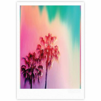 "Nina May ""LA Rainbow"" Pink Blue Fine Art Gallery Print"