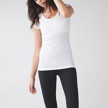 run: swiftly tech short sleeve scoop | women's tops | lululemon athletica