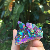Rainbow Aura Quartz