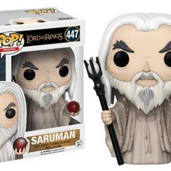 Funko POP Movies The Lord of the Rings Saruman Action Figure