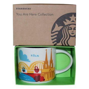 Starbucks You Are Here Collection Germany Koln Ceramic Coffee Mug New Box
