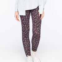Full Tilt Ditsy Floral Womens Leggings Multi  In Sizes