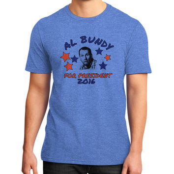 AL BUNDY FOR PRESIDENT District T-Shirt (on man)