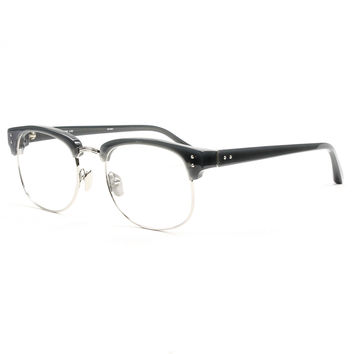 Linda Farrow 88 C4 Eyeglasses Grey Silver with Clear Demo Lenses