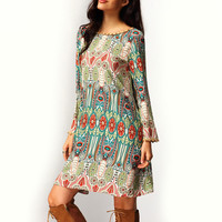 Boho Evening Summer Beach Dress