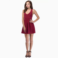 SIMPLE - Woman Fashionable Sexy Slim One Piece Dress a10599