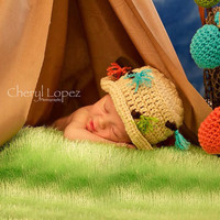 Newborn Baby Girls Boys Crochet Knit Costume Photo Photography Prop = 4463460548