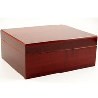 Prestige Import Group - The Executive Cigar Humidor - Color: Cherry
