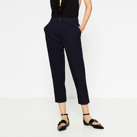 DARTED TROUSERS - View All-TROUSERS-WOMAN | ZARA United States