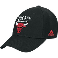 NBA adidas Chicago Bulls Black Basic Logo Wool Hat