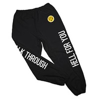 Walk Through Hell For You Sweatpants by Say Anything