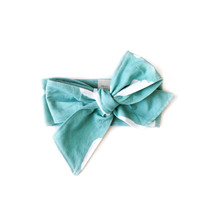 Baby Headwrap Tiffany Clouds