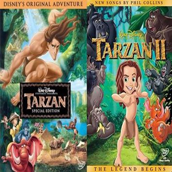 Tarzan DVD 1 & 2 Includes Both Movies