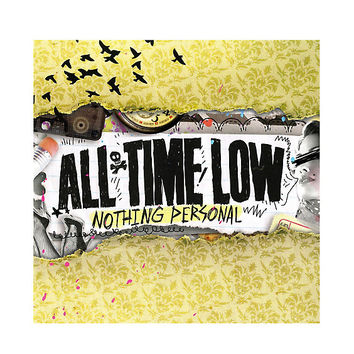 All Time Low - Nothing Personal Vinyl LP Hot Topic Exclusive