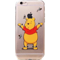 "Apple iPhone 6 Winnie the Pooh clear case iPhone 6/6s (4.7"")"