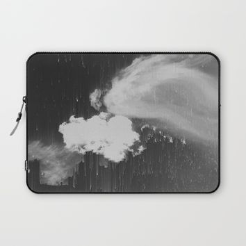 Cloudy Daze Laptop Sleeve by Ducky B