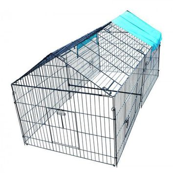 Chicken Pens Crate Rabbit Enclosure Pet Playpen Exercise Pen