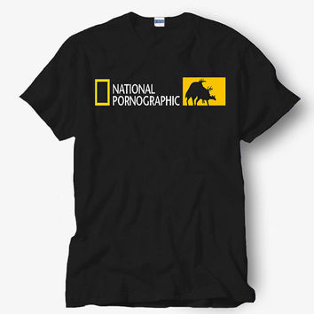 National pornographic Shirt, Black Shirt, Popular Shirt Hot Product On USA Size S-M-L-XL, Funny Shirt, Funny T Shirt, Humor t shirt