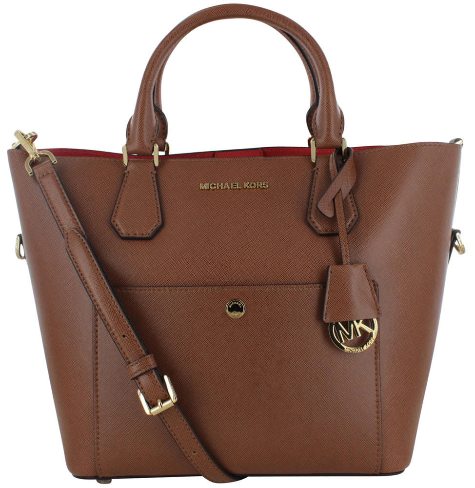 michael kors large greenwich satchel from street moda. Black Bedroom Furniture Sets. Home Design Ideas