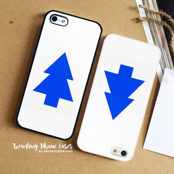Dipper Pines Tree Shape Gravity Falls iPhone Case Cover for iPhone 6 6 Plus 5s 5 5c 4s 4 Case