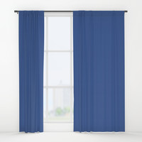 Facebook Blue Window Curtains by spaceandlines