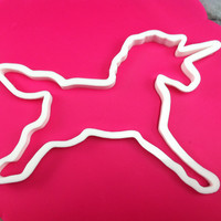 Unicorn Cookie Cutter - CHOOSE Your OWN SIZE - Fast Shipping!
