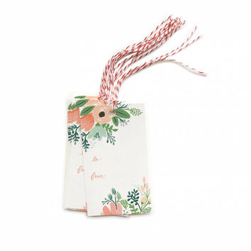 Wild Flower Gift Tags from Rifle Paper Co.