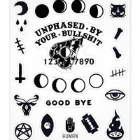 OUIJA SPIRIT STICKERS - PREORDER