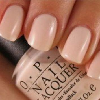 OPI ~ BUBBLE BATH ~ Sheer Beige/Pink Creme Soft Shades Nail Lacquer Polish