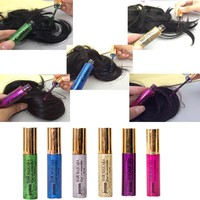 Joyous Brand Temporary Color Hair Dye Mascara Non-toxic Hair Mix Color Dyeing Salon Stick New