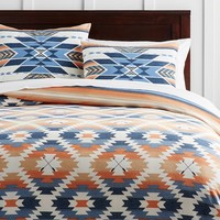 Junk Gypsy Desert Sunset Reversible Duvet Cover + Sham