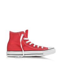 Converse Limited Edition Designer Shoes All Star Red Canvas High Top Sneaker