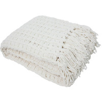 J&M Home Fashions Luxury Chenille Throw Blanket