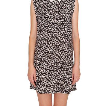Belle Shift Dress - Black/Taupe