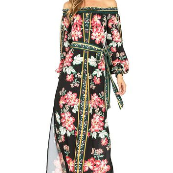 Rose Renaissance Maxi Dress