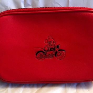 Disney X COACH Crossbody Pouch featuring Mickey Mouse Limited Edition