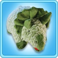 Pillow Pets®  Folding Plush :: Green Dinosaur - My Pillow Pets® | The Official Home of Pillow Pets®