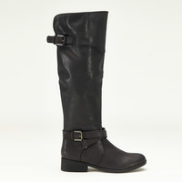 Made for Walking Knee High Boots in Black