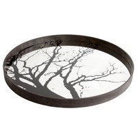 Tree Design Mirror Tray