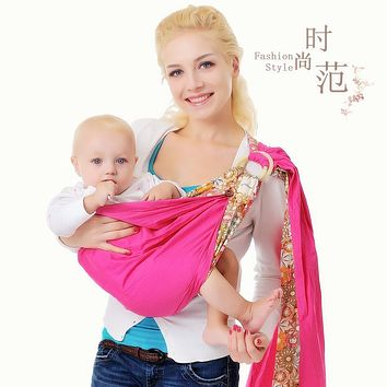 top quality breathable double loop baby carrier infant carrier sling baby suspenders children kids strap towel baby haversack