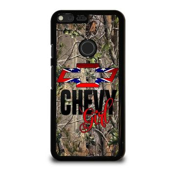 CAMO BROWNING REBEL CHEVY GIRL Google Pixel XL Case Cover