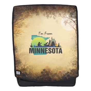 TEE I'm from Minnesota Backpack