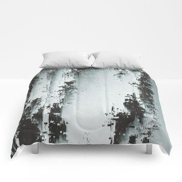 Silver Deposits Comforters by DuckyB