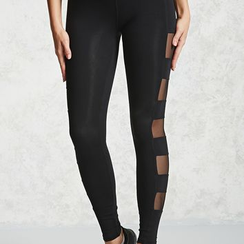 Active Mesh Cutout Leggings