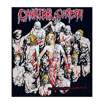 Cannibal Corpse Men's Woven Patch Multi