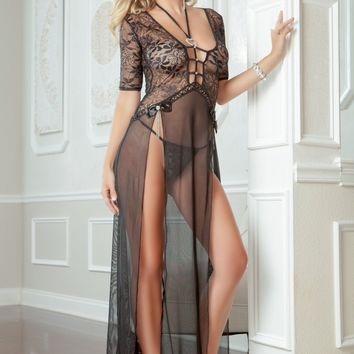 Bahama Nights Lingerie Gown