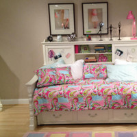 Octavia White Bookcase Day Bed