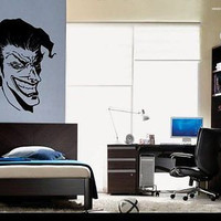 Joker Clown Face Wall Art Sticker Decal Ar592