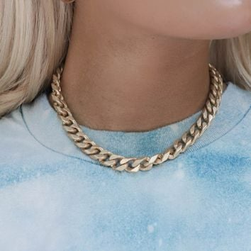 Fire Sign Gold Chain
